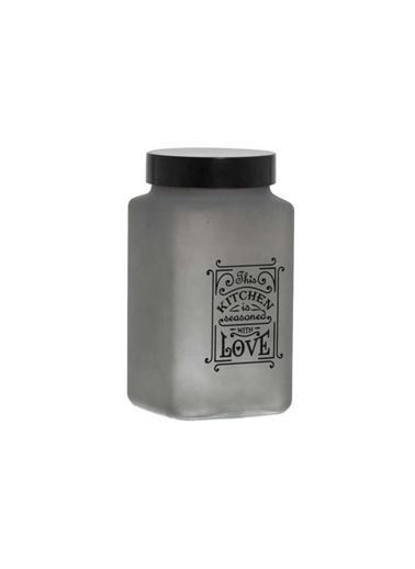 Herevin Herevin 161202-520 Kare Saklama Kabı Füme 1 Litre Renkli